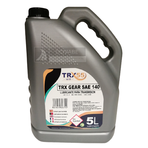 ACEITE REDUCTOR SAE 140 TRX55 GEAR 5L.