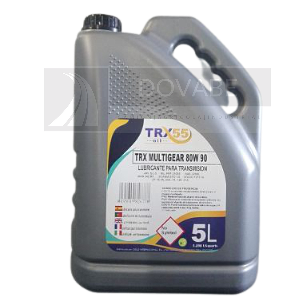 ACEITE REDUCTOR 80W90 TRX55 MULTIBOX 5L.